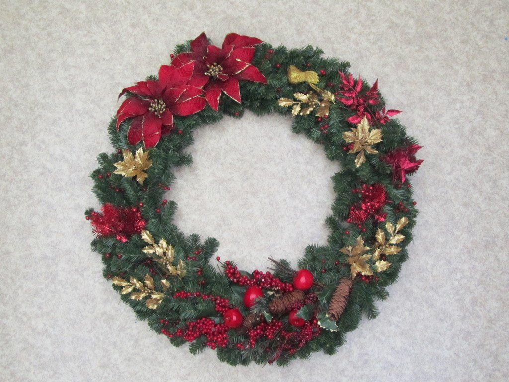 It's a Wreath!